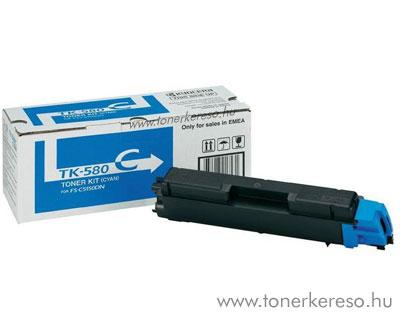 Kyocera TK580 C eredeti cyan toner FS5150DN 1T02KTCNL0 Kyocera FS-5150DN lézernyomtatóhoz