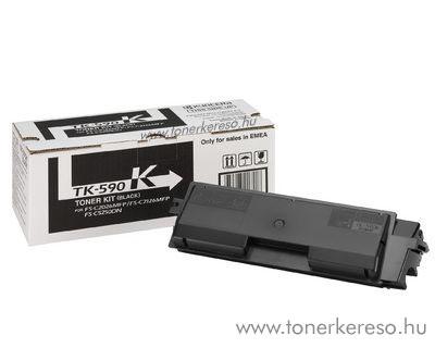 Kyocera TK590 Bk eredeti fekete toner FSC2026/2126MFP 1T02KV0NL0 Kyocera FS-C2126MFP lézernyomtatóhoz