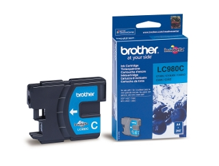 Brother LC980 C tintapatron