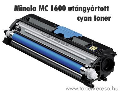 Minolta MagiColor 1600 C cyan kompatibilis/utángyártott toner Minolta Magicolor 1650EN lézernyomtatóhoz