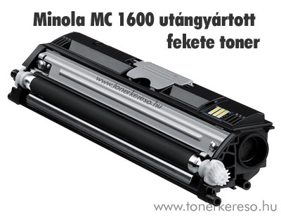 Minolta MagiColor 1600 Bk fekete kompatibilis/utángyártott toner Minolta Magicolor 1650EN lézernyomtatóhoz