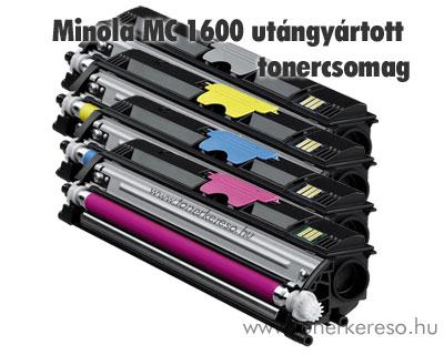 Minolta MagiColor 1600 kompatibilis/utángyártott tonercsomag Minolta Magicolor 1650EN lézernyomtatóhoz
