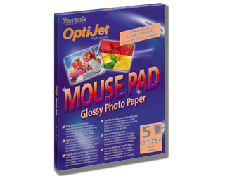 Optijet Mousepad Glossy A4 5 lap 230g 047185