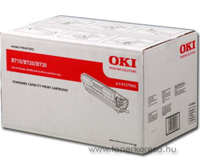 Oki 01279001 toner fekete (B730) Oki B730N lézernyomtatóhoz