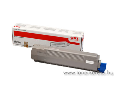 Oki 44643001 toner Yellow (C801)