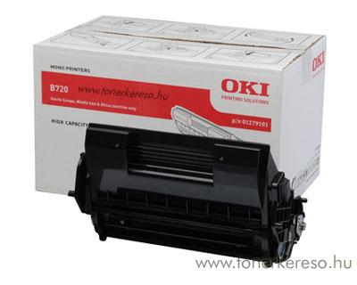 Oki 01279101 toner fekete (B720)