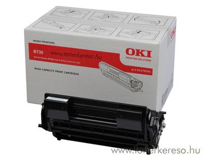 Oki 01279201 toner fekete (B730)