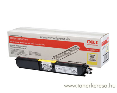 Oki 44250717 toner Yellow (C110/C130)