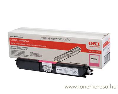 Oki 44250718 toner Magenta (C110/C130) Oki C130N lézernyomtatóhoz