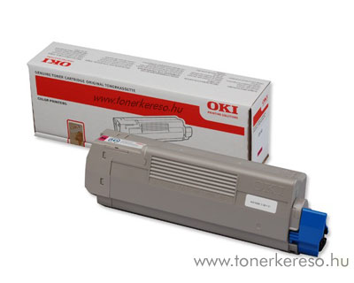 Oki 44315306 toner Magenta (C610) Oki C610 lézernyomtatóhoz