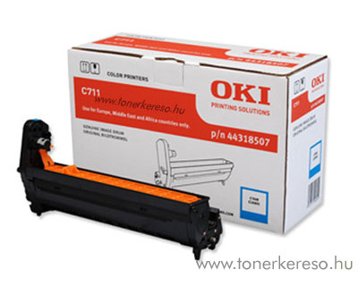 Oki 44318507 dobegység Cyan (C711) Oki C711DN lézernyomtatóhoz