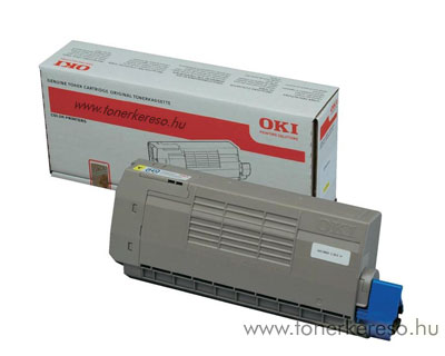 Oki 44318605 toner Yellow (C711)