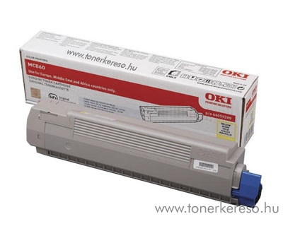 Oki 44059209 toner Yellow (MC860)