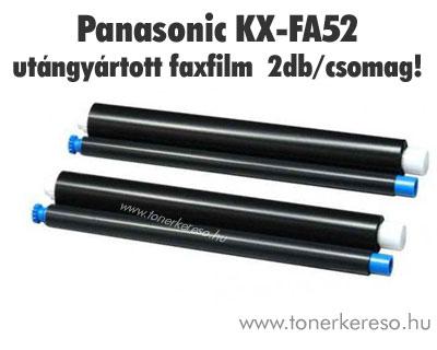 Panasonic KX-FA52 utángyártott faxfilm 2 tekercs!