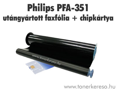 Philips PFA-351 utángyártott faxfólia (Philips magic 5)