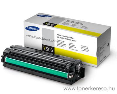 Samsung CLP680A Y yellow eredeti toner CLT-Y506S 1,5k Samsung CLX-6260FR lézernyomtatóhoz