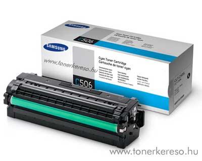 Samsung CLP680B C cyan eredeti toner CLT-C506L 3,5k nagykap. Samsung CLX-6260ND lézernyomtatóhoz