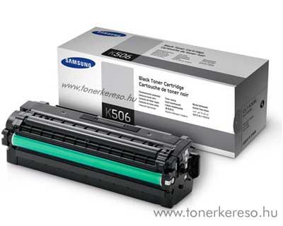 Samsung CLP680B Bk fekete eredeti toner CLT-K506L 6k nagykap. Samsung CLX-6260ND lézernyomtatóhoz