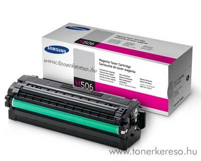 Samsung CLP680B M magenta eredeti toner CLT-M506L 3,5k nagykap. Samsung CLX-6260ND lézernyomtatóhoz