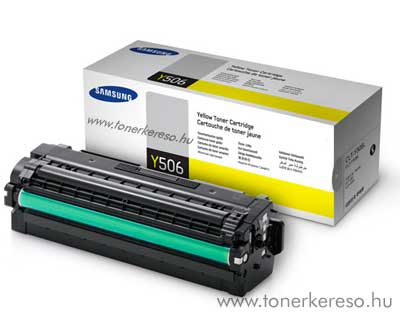 Samsung CLP680B Y yellow eredeti toner CLT-Y506L 3,5k nagykap. Samsung CLX-6260ND lézernyomtatóhoz