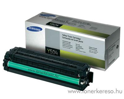 Samsung CLP-415 lézertoner yellow CLT-Y504S Samsung CLX-4195 lézernyomtatóhoz