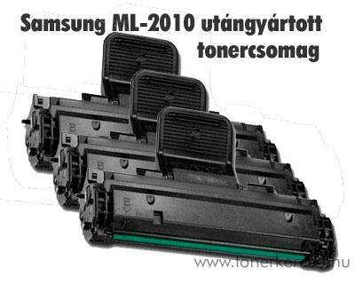Samsung ML-2010 utángyártott tonercsomag 3db!! OP Samsung ML-2010R lézernyomtatóhoz
