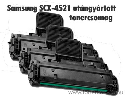 Samsung SCX-4521F utángyártott tonercsomag 3db!! OP Samsung SCX-4321 lézernyomtatóhoz