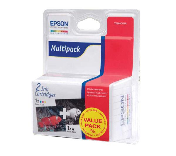 Epson Tintapatron T026401BA Epson Stylus Photo 820 tintasugaras nyomtatóhoz
