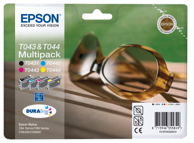 Epson Tintapatron T04324010 Epson Stylus C86 tintasugaras nyomtatóhoz