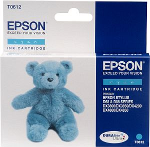 Epson Tintapatron T061240 Epson Stylus D68 tintasugaras nyomtatóhoz