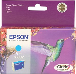 Epson Tintapatron T080240 Epson Stylus Photo RX595 tintasugaras nyomtatóhoz