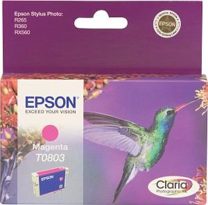Epson Tintapatron T080340 Epson Stylus Photo RX585 tintasugaras nyomtatóhoz