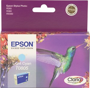 Epson Tintapatron T080540 Epson Stylus Photo RX585 tintasugaras nyomtatóhoz