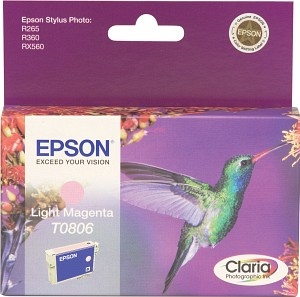 Epson Tintapatron T080640 Epson Stylus Photo RX585 tintasugaras nyomtatóhoz