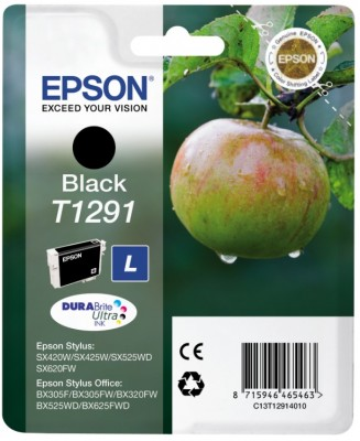 Epson Tintapatron T1291 Epson Stylus Office BX305F tintasugaras nyomtatóhoz