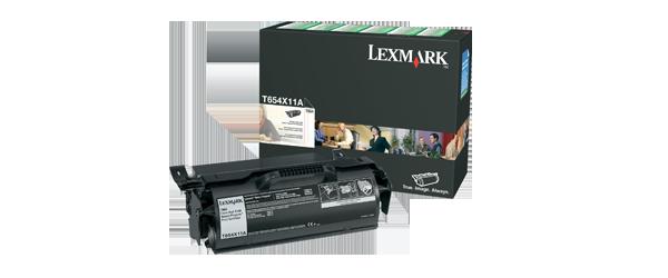 Lexmark Toner 654X11E Lexmark T656dne lézernyomtatóhoz
