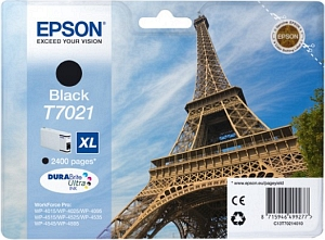 Epson Tintapatron T7021 Epson WorkForce Pro WP-4525DNF tintasugaras nyomtatóhoz