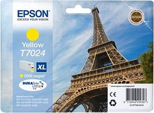 Epson Tintapatron T7024 Epson WorkForce Pro WP-4525DNF tintasugaras nyomtatóhoz
