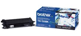 Brother TN 135 Bk fekete lézertoner színes lézernyomtatókhoz Brother MFC-9840CDW lézernyomtatóhoz