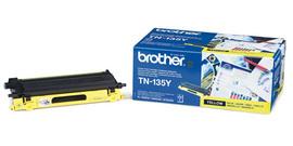Brother TN 135 Y yellow lézertoner színes lézernyomtatókhoz Brother DCP-9840CDW lézernyomtatóhoz
