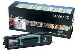 Lexmark toner X203A11G Lexmark X203n lézernyomtatóhoz