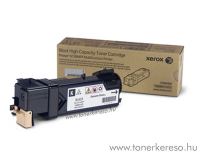 Xerox toner 106R01459 6128MFP fekete lézertoner Xerox Phaser 6128 lézernyomtatóhoz
