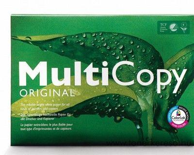 A4 fénymásoló és nyomtatópapír MultiCopy 1csomag 500 lap