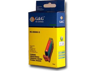Canon BCI-6 green tintapatron G&G GGC6G