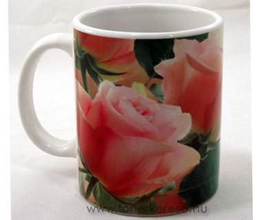Anyák napi bögre - rózsa