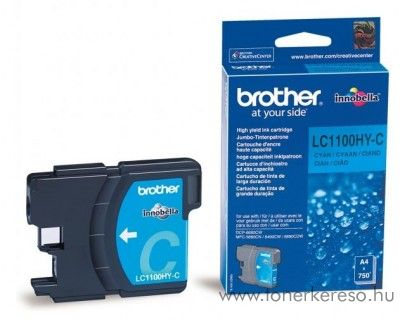 Brother DCP-6690/MFC-6490 eredeti cyan tintapatron LC1100HYC