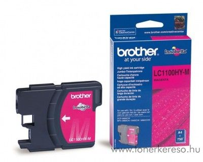 Brother DCP-6690/MFC-6490 eredeti magenta tintapatron LC1100HYM