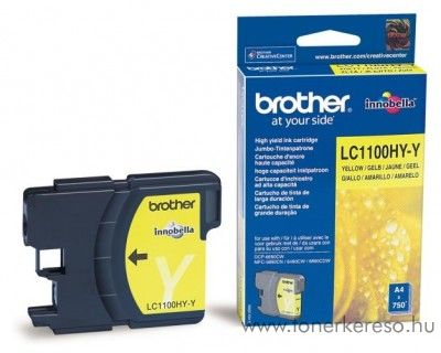 Brother DCP-6690/MFC-6490 eredeti yellow tintapatron LC1100HYY