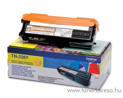 Brother DCP-9270/MFC-9970 eredeti yellow toner TN-328Y