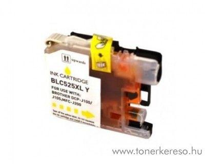 Brother DCP-J100/J105 utángyártott yellow patron RBBLC525XLY Brother MFC-J200 tintasugaras nyomtatóhoz